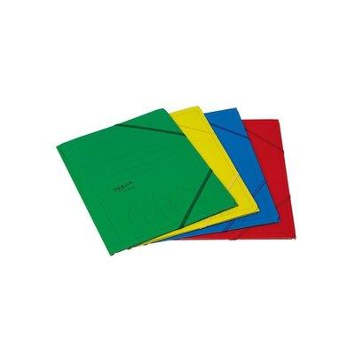 Carpeta con gomas y solapas cartón folio colores Fabrisa 15825