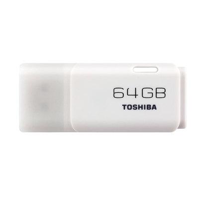 Memoria USB 2.0 Toshiba White Hayabusa 64 GB