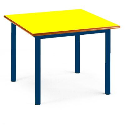 Mesa para educación infantil de madera amarillo 120x60cm. 920 RAL5000/AMARILL10