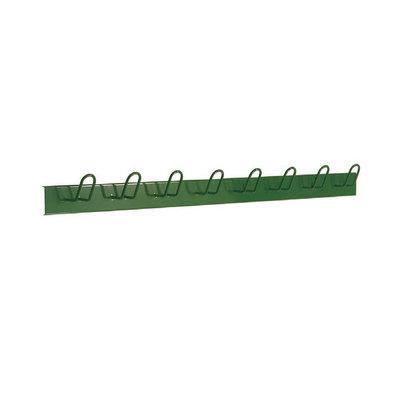 Percha de 8 colgadores metálica 6020/VERDE RAL6028