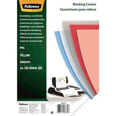 Portadas de encuadernar PVC transparente Fellowes