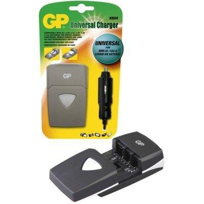 Cargador Universal pilas y baterias GP  KB04GSCA