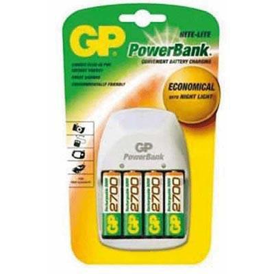 Cargador de pilas Powerbank GP