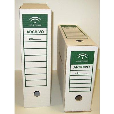 Caja de archivo definitivo cartón Junta de Andalucia FP.SAS