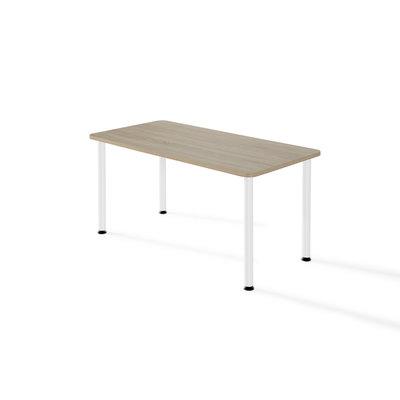 Mesa polivalente rectangular con la estructura de color blanca NL71000 ESTR/BL BL