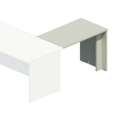 Ala para mesa operativa pata panel COR5092-BL