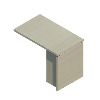 Ala para mesa Alba Panel LB40015-BL