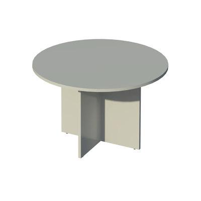 Mesa de reunión redonda 120cm (diámetro) COR417 BL