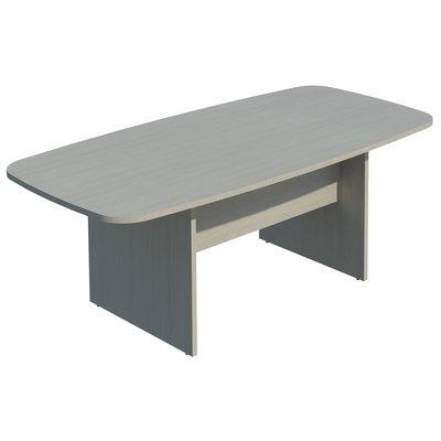 Mesa de reunión rectangular 200x100 cm (anchoxfondo) COR421 BL