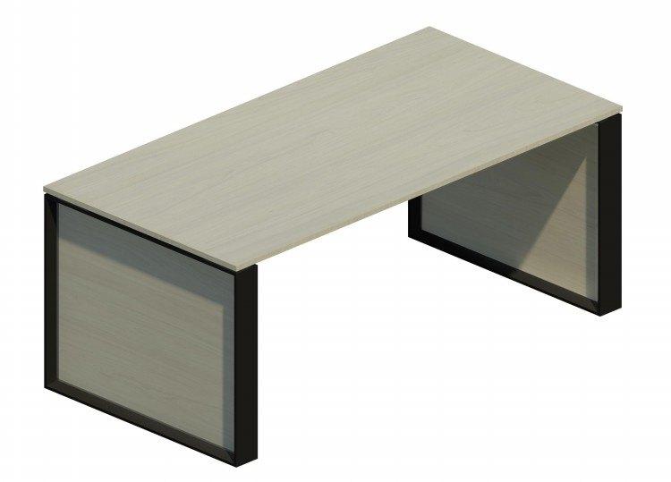 Mesa Omega con marco negro OM30001 BL