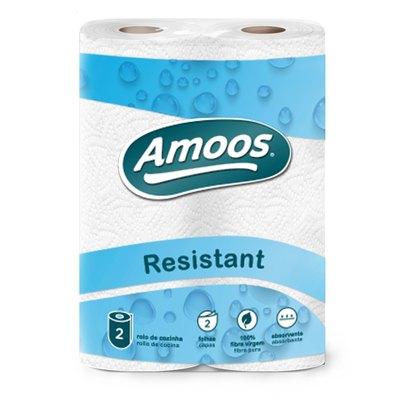 Rollo de papel de cocina doméstico 2 capas Amoos C621001.3