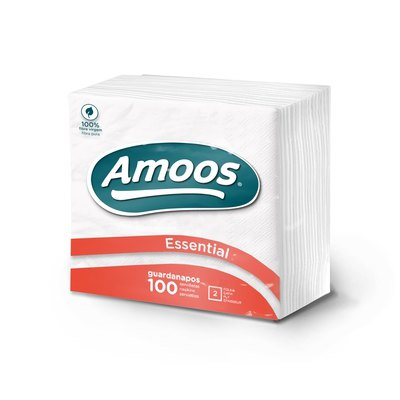Servilleta blanca 2 capas Amoos T622506.1