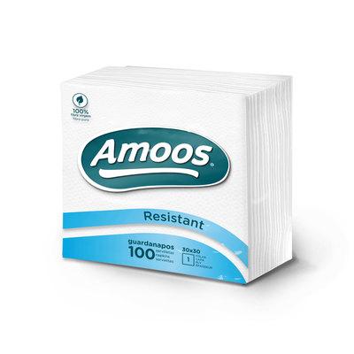 Servilleta blanca 1 capa Amoos T621007.3