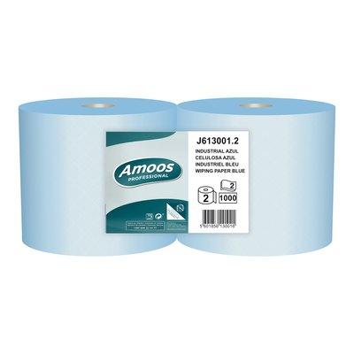 Bobina industrial secamanos 2 capas Amoss