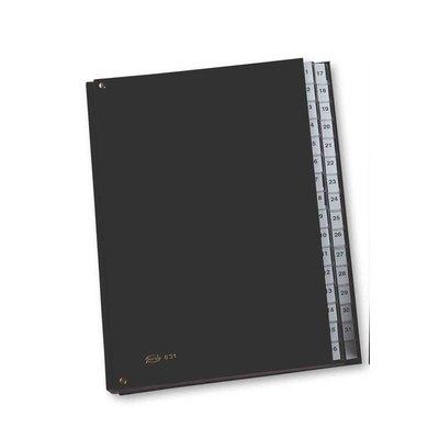Carpeta clasificadora extra números del 1 al 31 Pardo 83101