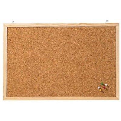Tablero de corcho con marco de madera 60x100cm a-series  CC-KT60100