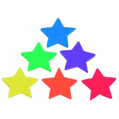 Figuras goma EVA adhesivas estrellas Smart 68 00 15 0