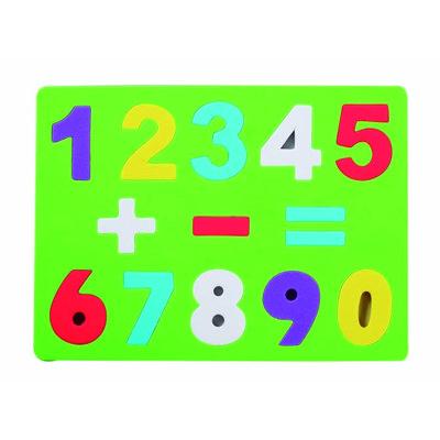 Puzle de goma eva números y signos 5022