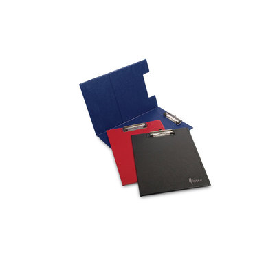 Carpeta de congresos con clip superior y tapa A4 Forpus azul