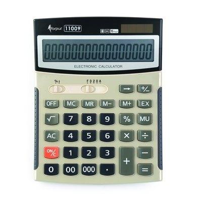 Calculadora de sobremesa 16 dígitos Forpus 11009 FO11009