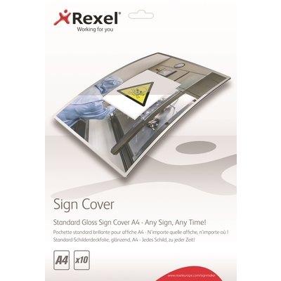 Fundas de plastificar standard brillo A4 Rexel Signmarker 2104251