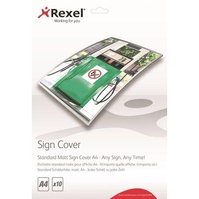 Fundas de plastificar standard mate A4 Rexel Signmarker 2104252