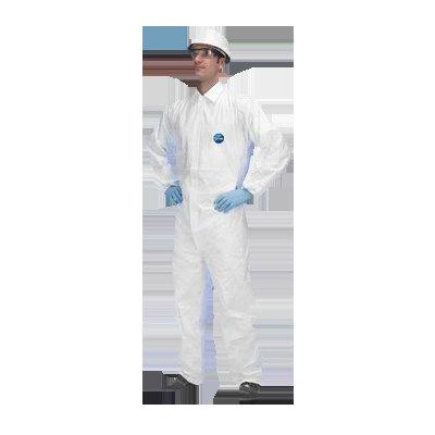 Traje de protección contra quimicos Tyvek Industry CCF5 color blanco 1012030030