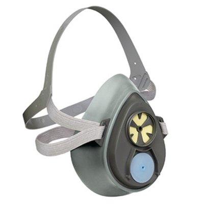 Máscara para gases y vapores 3M reutilizable buconasal 3200 grande 3200