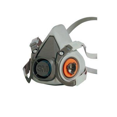 Máscara para gases y vapores 3M reutilizable buconasal 6300 grande 6002C