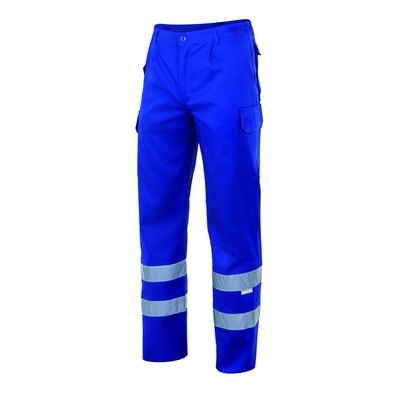 Pantalón multibolsillos con cintas reflectantes 159 2 X