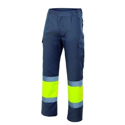 Pantalón bicolor Alta Visibilidad forrado 156 140 M