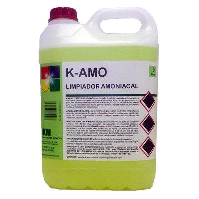 Limpiador amoniacal K-Amo K-NH 5L