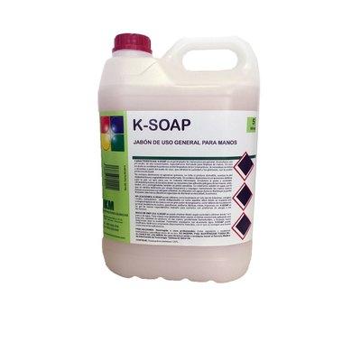 Jabón para manos de uso general K-SOAP 5 litros