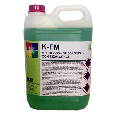 Fregasuelos multiusos con bioalcohol K-Fm K-FM 5L