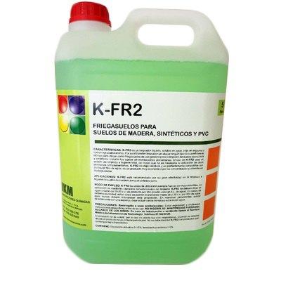 Friegasuelos para madera, sintéticos y PVC K-FR2 K-FR2