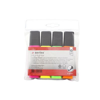 Rotulador fluorescente A-Series colores surtidos