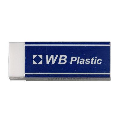Goma de borrar Ikon WB Plastic