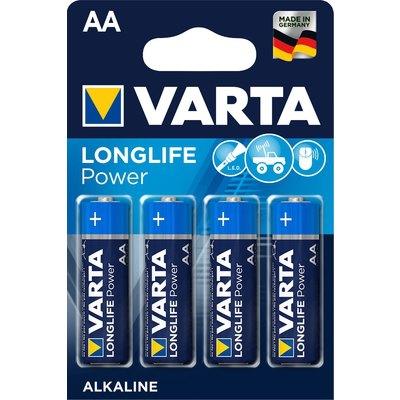 Pila alcalina Varta Longelife 6LR61 9V
