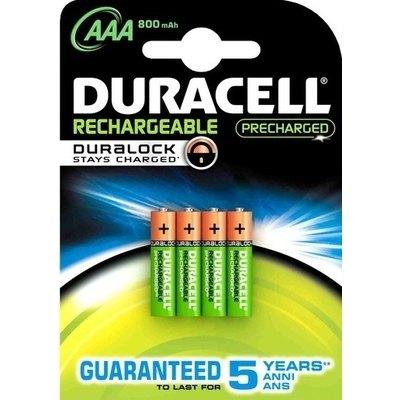Pila recargable pre-cargada Duracell AAA DUR20382