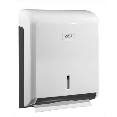 Dispensador de toallas secamanos en V cleanline JVD 899604