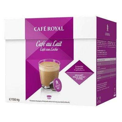Cápsulas Café Royal Dolce Gusto Café Au Lait