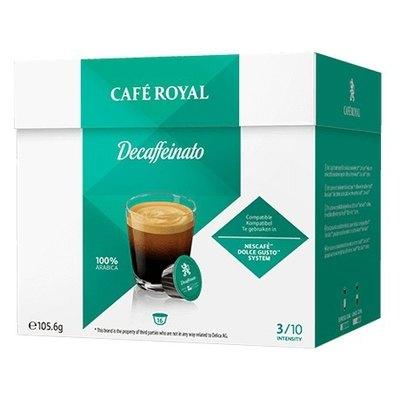Cápsulas Café Royal Dolce Gusto Decaffeinato 2001279