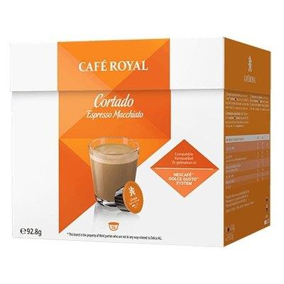 Cápsulas Café Royal Dolce Gusto Cortado