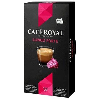 Cápsulas Café Royal Nespresso Classic Lungo Forte