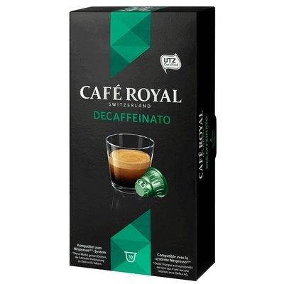 Cápsulas Café Royal Nespreso Classic Espresso Decaffeinato