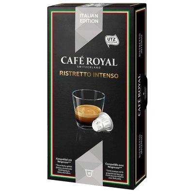 Cápsulas Café Royal Nespresso Italian Edition Ristretto Intenso