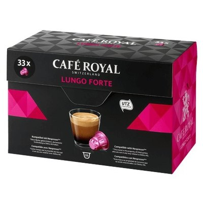 Cápsulas Café Royal Nespresso Classic XL Lungo Forte
