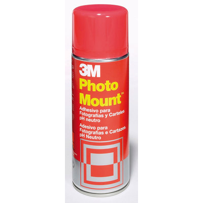 Pegamento permanente en spray 3M Photo Mount