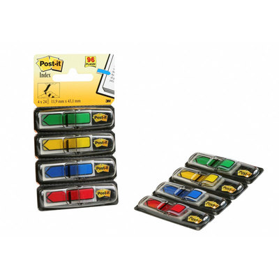 Dispensador de banderitas flechas Post-it Index 684-ARR3