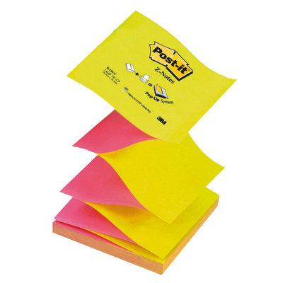 Bloc de notas adhesivas zig zag Post-it Z-Notes R330-NA